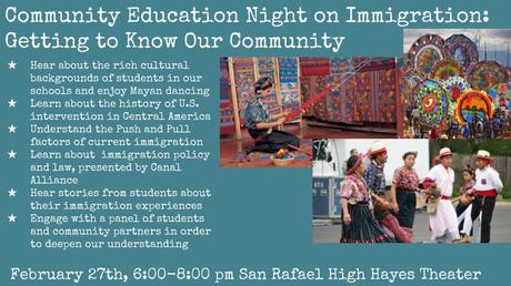 Community Education on Immigration Night