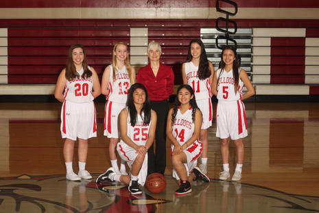 2015-2016 Girls JV Basketball