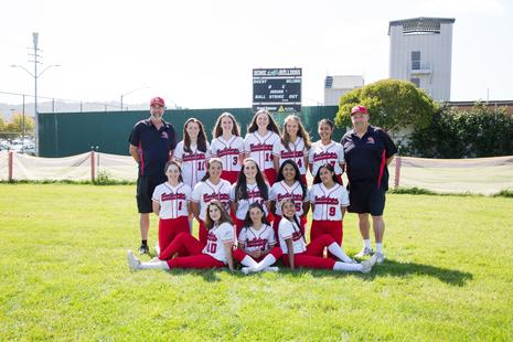 2019 Girls Softball Team